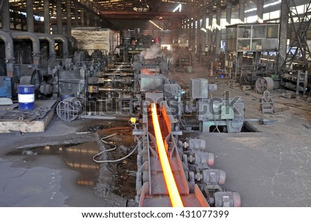 Steel processing in the modern workshop