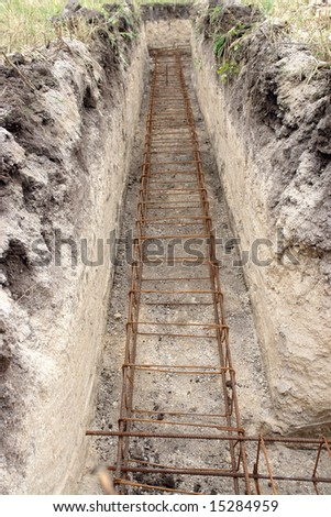Foundation Trench Stock Images Royalty Free Images