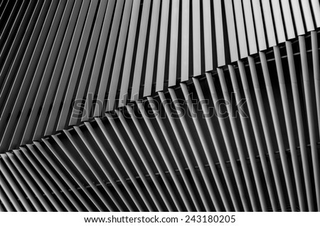 Steel Structure background - stock photo