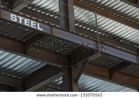 Steel Substructure of a new high rise building