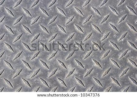 Steel surface - stock photo