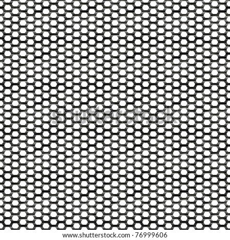 Steel wire mesh that tiles seamlessly as a pattern. - stock photo