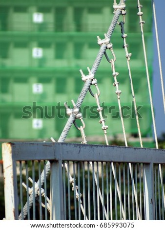 Steel Wire Rope Bridge Stock Images, Royalty-Free Images & Vectors ...