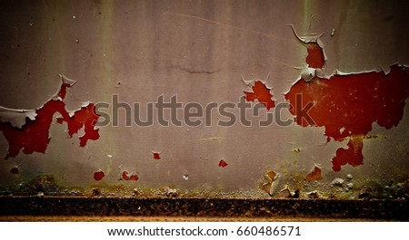 steel zinc rust background