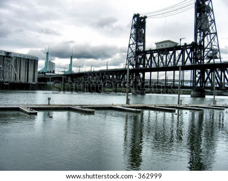 Steele Bridge in Portland, OR