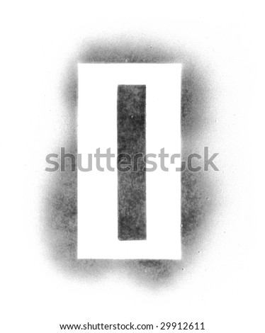 stencil letters in spray paint stock photos illustrations and vector. Black Bedroom Furniture Sets. Home Design Ideas