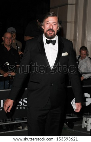 Stephen Fry arriving for the 2013 GQ Men Of The Year Awards, at the Royal Opera House, London. 03/09/2013