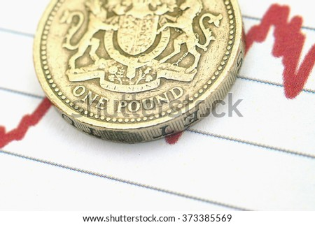 Sterling exchange rate - stock photo