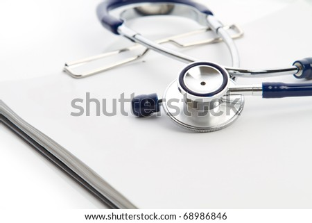 Stethoscope and Checklist