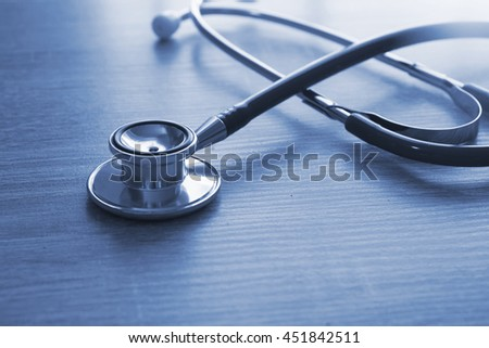 Stethoscope and medical healthcare concept