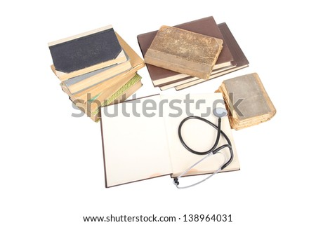 stethoscope traditional medicine - stock photo