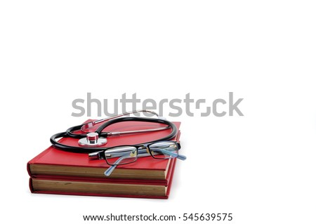 Stethoscope with books