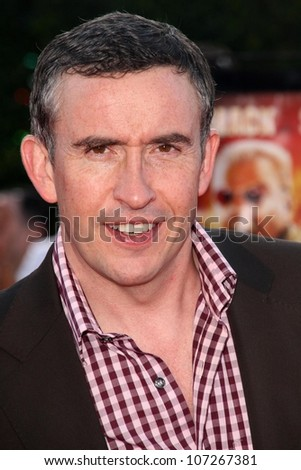 Steve Coogan  at the Los Angeles Premiere of 'Tropic Thunder'. Mann's Village Theater, Westwood, CA. 08-11-08 - stock photo