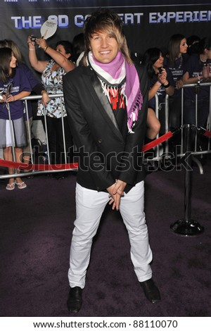 "Steve Rushton at the world premiere of ""Jonas Brothers: The 3D Concert Experience"" at the El Capitan Theatre, Hollywood. February 24, 2009  Los Angeles, CA Picture: Paul Smith / Featureflash - stock photo"