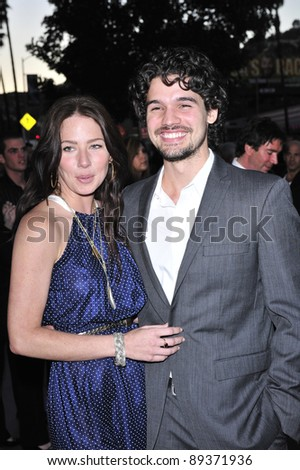 "Steven Strait & wife Lynn Collins at the Los Angeles premiere of ""Stop-Loss"" at the Directors Guild of America Theatre, Los Angeles. March 17, 2008  Los Angeles, CA Picture: Paul Smith / Featureflash"