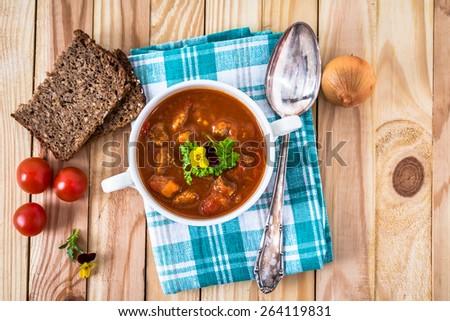 stew - stock photo