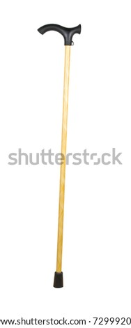 stick isolated on a white background - stock photo