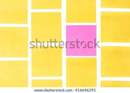 sticky notes - stock photo