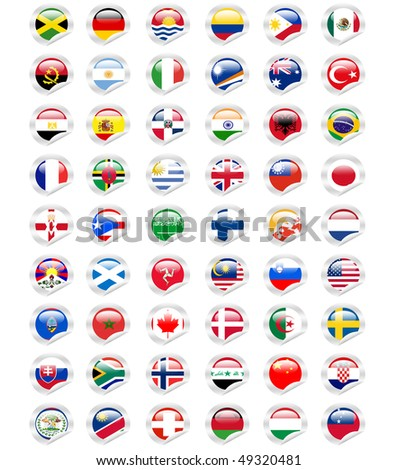 sticky world flags