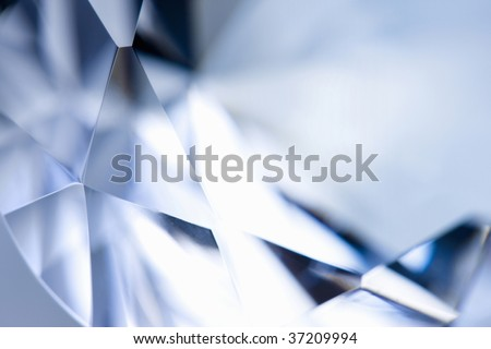 Still Image- close-up shot of a beautiful diamond - stock photo