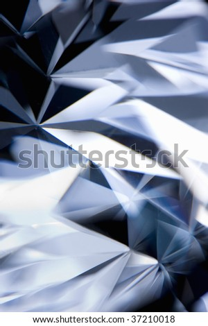 Still Image- close-up shot of a beautiful diamond - stock photo