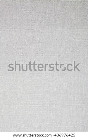 Still life close up design element of a blank white piece of hand made writing paper with thick texture, plain background. Neutral backdrop cardboard with imperfections, full frame gray sheet. - stock photo