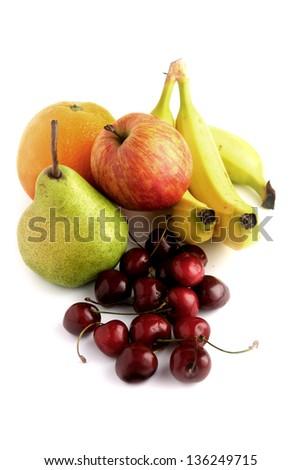 Still life fruit - stock photo