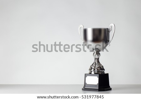 still life image of trophy shot in the studio