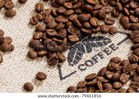 still life of coffee beans