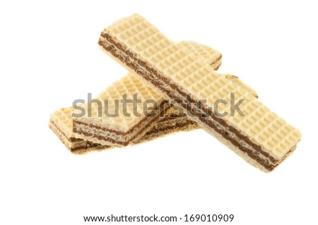 still life of wafer - stock photo
