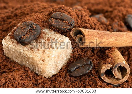 Still-life with coffee - stock photo