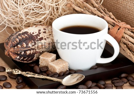 Still Life with Coffee - stock photo