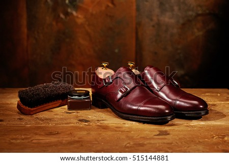 Leather dress boot care