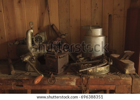 Still life with old thing