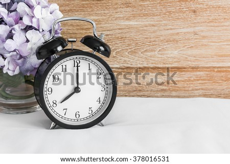 retro clock thank you card snowflake stock photo 41054452 shutterstock. Black Bedroom Furniture Sets. Home Design Ideas