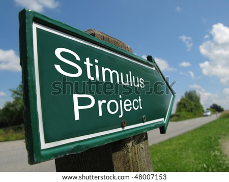 STIMULUS PROJECT road sign