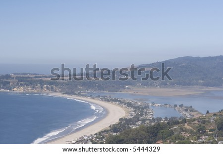 Stinson Beach - stock photo