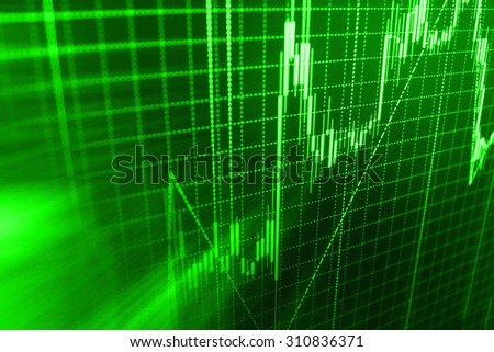 Stock exchange background.