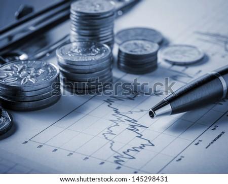 Stock exchange concept - stock photo