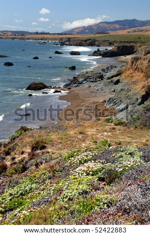 Stock image of California's Central Coast, Big Sur, USA