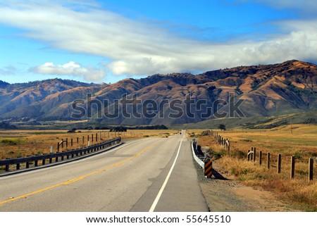 Stock image of California's Central Coast, Big Sur, USA - stock photo