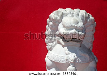 Stock image of Chinatown, Los Angeles, USA - stock photo