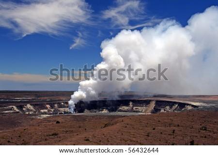 Stock image of Hawaii Volcanoes National Park, USA - stock photo
