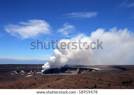 Stock image of Hawaii Volcanoes National Park, USA
