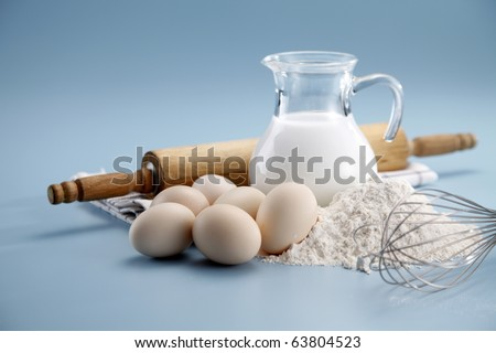 stock image of the baking ingredient - stock photo