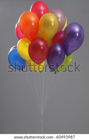 stock image of the colorful balloon - stock photo