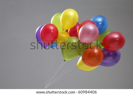 stock image of the colorful balloon