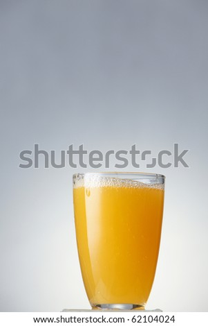 stock image of the orange juice - stock photo