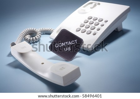 stock image of the phone - stock photo