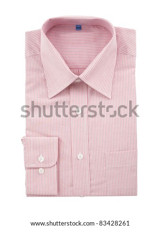 stock image of the shirt isolated on white